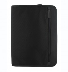Porte-documents zippé Fusion - A4 - Black