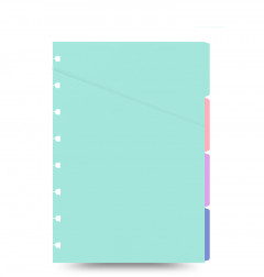 Filofax Notebooks - Intercalaires Pastel