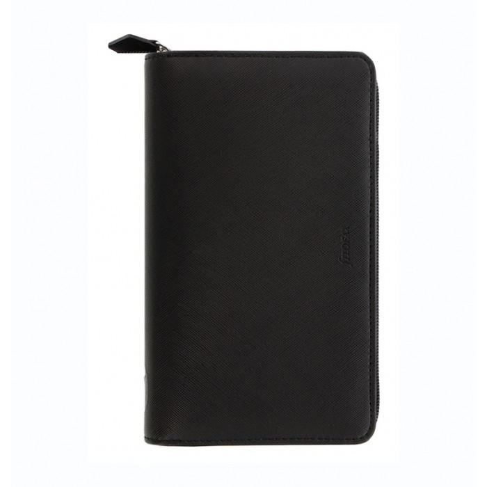 Organiseur Saffiano Zip - Personal Compact - Black 2021
