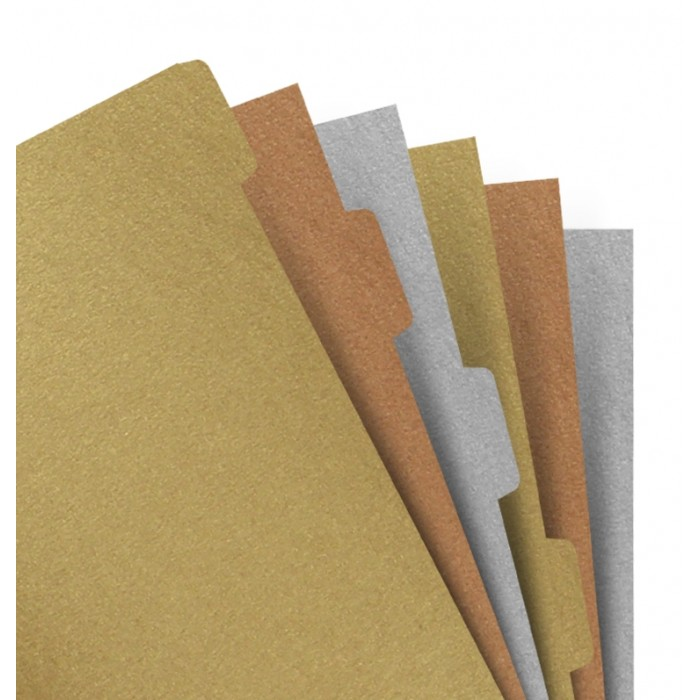 Filofax Notebooks - Intercalaires Metallic - A5