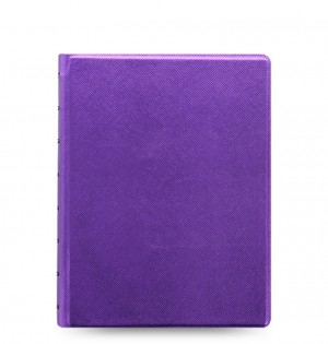 Filofax Notebooks Saffiano Metallic - A5